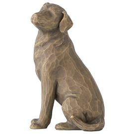 Willow Tree Love My Dog Figurine - Dark