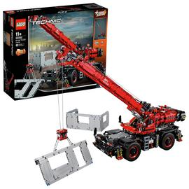 LEGO Technic Rough Terrain Crane 2 -in-1 Set - 42082