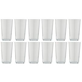 Argos Home Set of 12 Basic Beer Glasses