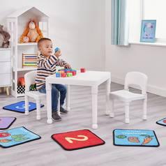 b5c8b3baa33 Liberty House White Kids Table   2 Chairs