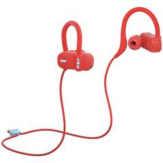 Jam Live Fast In - Ear Bluetooth Headphones - Red