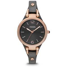 Fossil Ladies' Georgia ES3077 Rose Gold Accent Petite Watch
