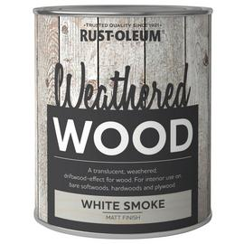 Rustoleum Weathered Wood Smoke Matt 750ml - White