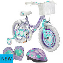 Pedal Pals 14 Inch Bike & Accessory Bundle - Sweetie Hearts