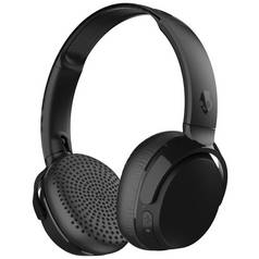 Skullcandy Riff On - Ear Wireless Headphones - Black