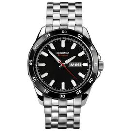 Sekonda Men's Stainless Steel Bracelet Bezel Watch