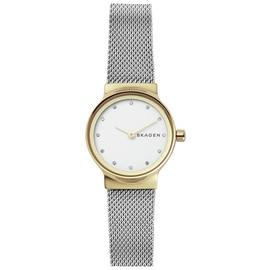 Skagen Ladies' Freja SKW2666 Two Tone Mesh Strap Watch