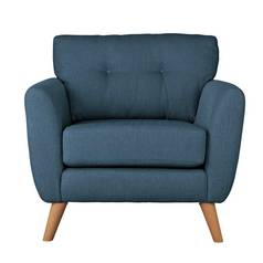 Argos Home Kari Fabric Armchair - Blue