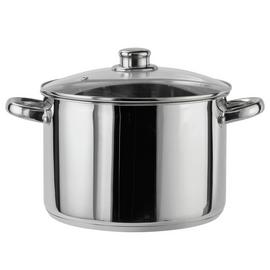 Argos Home 24cm Stainless Steel Stock Pot