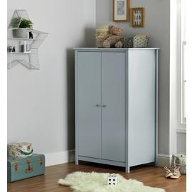 Argos Home Brooklyn 2 Door Short Wardrobe