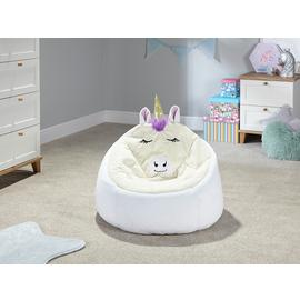 Argos Home Unicorn Bean Bag Chair
