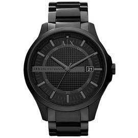70d2ad012 Armani Exchange Men's Black Stainless Steel Bracelet Watch
