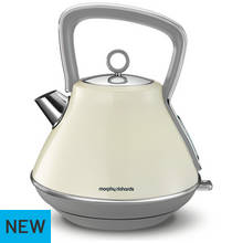 Morphy Richards Evoke 100107 Jug Kettle - Cream