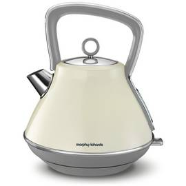 Morphy Richards 100107 Evoke Pyramid Kettle - Cream