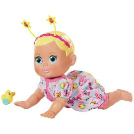 Baby Born Funny Faces Crawling Baby Doll