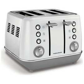 Morphy Richards 240109 Evoke 4 Slice Toaster - White