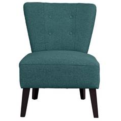 Argos Home Delilah Cocktail Chair - Teal
