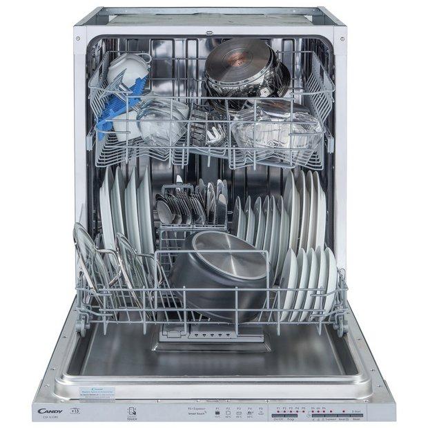 Buy Candy CDI1LS38S Full Size Integrated Dishwasher   Dishwashers   Argos