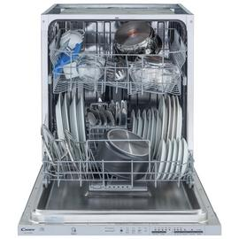 Candy CDI1LS38S Full Size Integrated Dishwasher - White