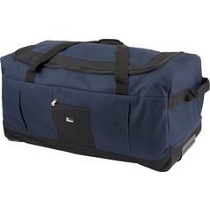Go Explore Soft Wheeled 140 Litre Extra Large Holdall - Navy 874a4084beb11