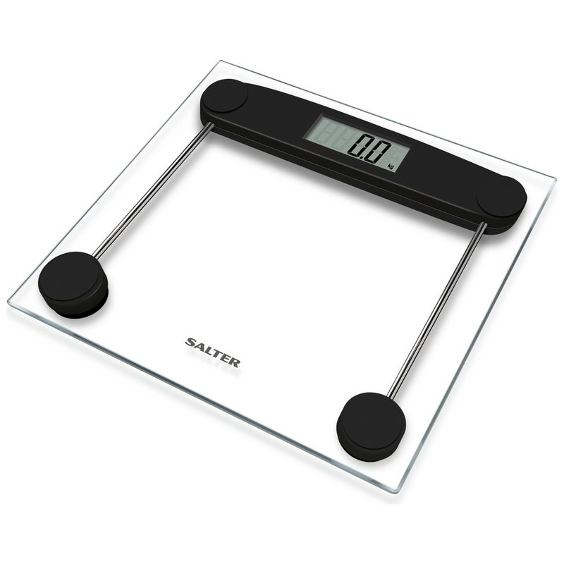 Salter Compact Clear Glass Electronic Scale from Argos