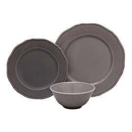 Argos Home Palatial 12 Piece Dinner Set - Grey