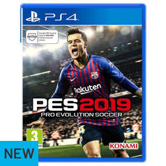 PES 2019 PS4 Game