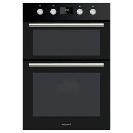 Hotpoint DD2844CBL Built In Double Electric Oven - Black