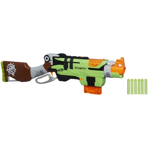 Buy Nerf Zombie Strike SlingFire | Limited stock Toys and Games | Argos