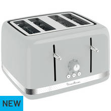 Moulinex 4 Slice Toaster - Pepper