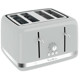 Moulinex LT305E41 4 Slice Toaster - Pepper