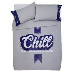 Argos Home Chill Bedding Set - Double