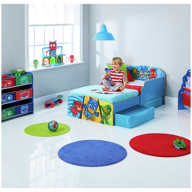 516d06b356a6 Buy Argos Home PJ Masks Toddler Bed with Underbed Storage