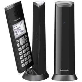 Panasonic KX-TGK222EB Cordless Telephone Dect-Black Twin