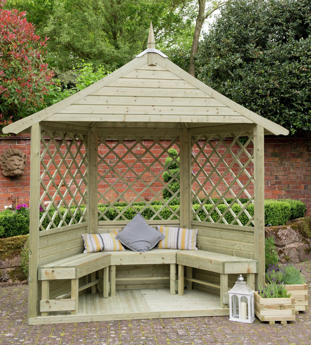 Arbours Garden Benches And Arbours Argos
