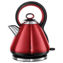 Russell Hobbs 21885 Legacy Quiet Boil Kettle - Red