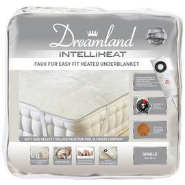 Dreamland Intelliheat Faux Fur Underblanket - Single