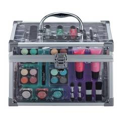 Technic Clear Filled Vanity Case