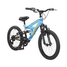 Piranha Quake 18 Inch Dual Suspension Kids Bike
