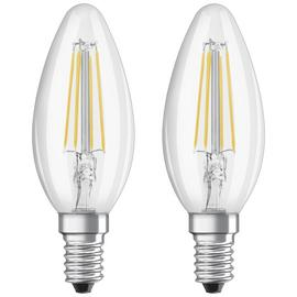 Osram 40W Filament LED Candle SES Bulbs - Twin Pack