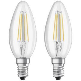 Osram 4W Filament LED Candle SES Bulbs - Twin Pack