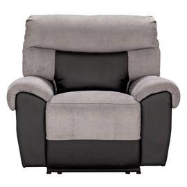 Argos Home Henry Fabric Recliner Chair - Charcoal