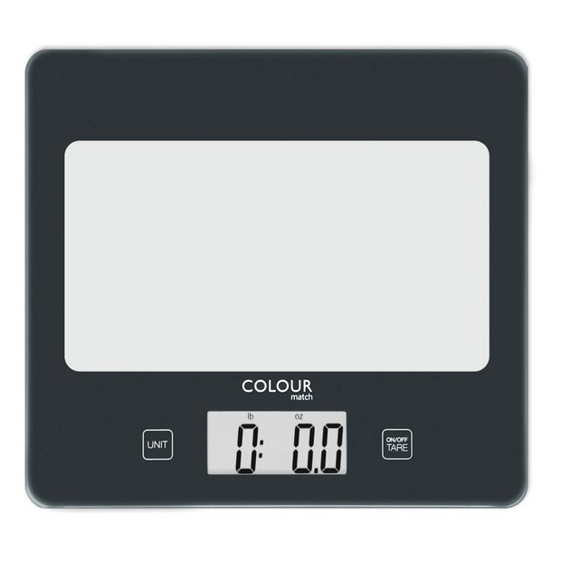 Buy Argos Home Square Digital Kitchen Scale Jet Black Kitchen