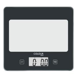 Argos Home Square Digital Kitchen Scale - Jet Black