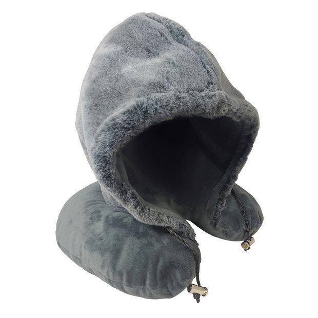 buy hooded travel pillow travel pillows argos