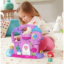 Fisher-Price Little People Disney Princess Play & Go Castle