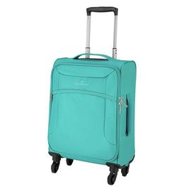 Featherstone Soft 4 Wheel Suitcase - Turquoise