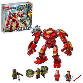 LEGO Marvel Iron Man Hulkbuster vs. A.I.M. Agent Toy 76164