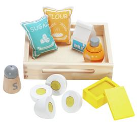 Chad Valley Wooden Toy Baking Set