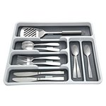 more details on Addis Cutlery Drawer - White.